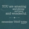 Remember that!