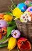 Basket full of Easter joy