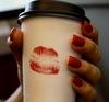 Coffee + a kiss
