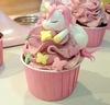 Pink Unicorn Cupcake