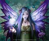 purple aura to brighten your day