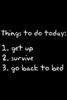 im lazy today