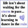 be my rain