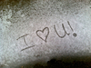 Message in the Snow