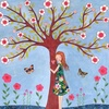 Tree of light love happiness