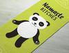 Sunshine Panda Yoga Mat