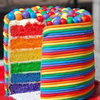 Happy Birthday Rainbow Style
