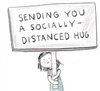 A Socially Distanced Hug