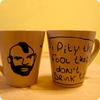 Mr T tea cups