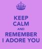 I adore u <3