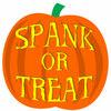 Spank or treat?
