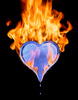 my heart's ablaze for you