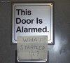 The Door Is Scared
