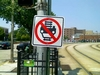 No Flipping Cars On The Tracks
